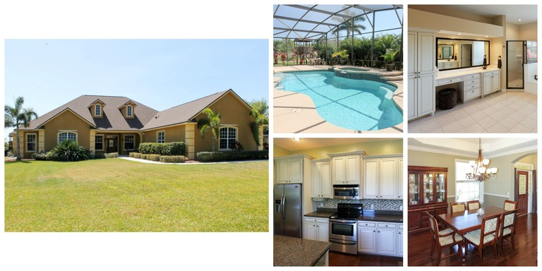 MERRITT ISLAND POOL HOME ON .60 ACRES!