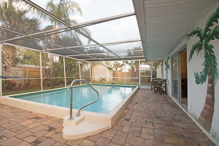 Updated South Merritt Island Pool Home