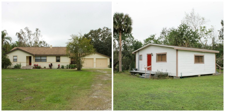 Spacious Main House & Income/In-law House too! Total of 2.44 Acres!