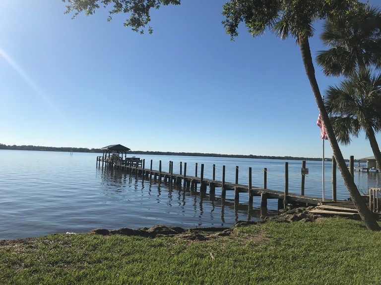 DIRECT INDIAN RIVER .37 ACRE LOT w/DOCK!