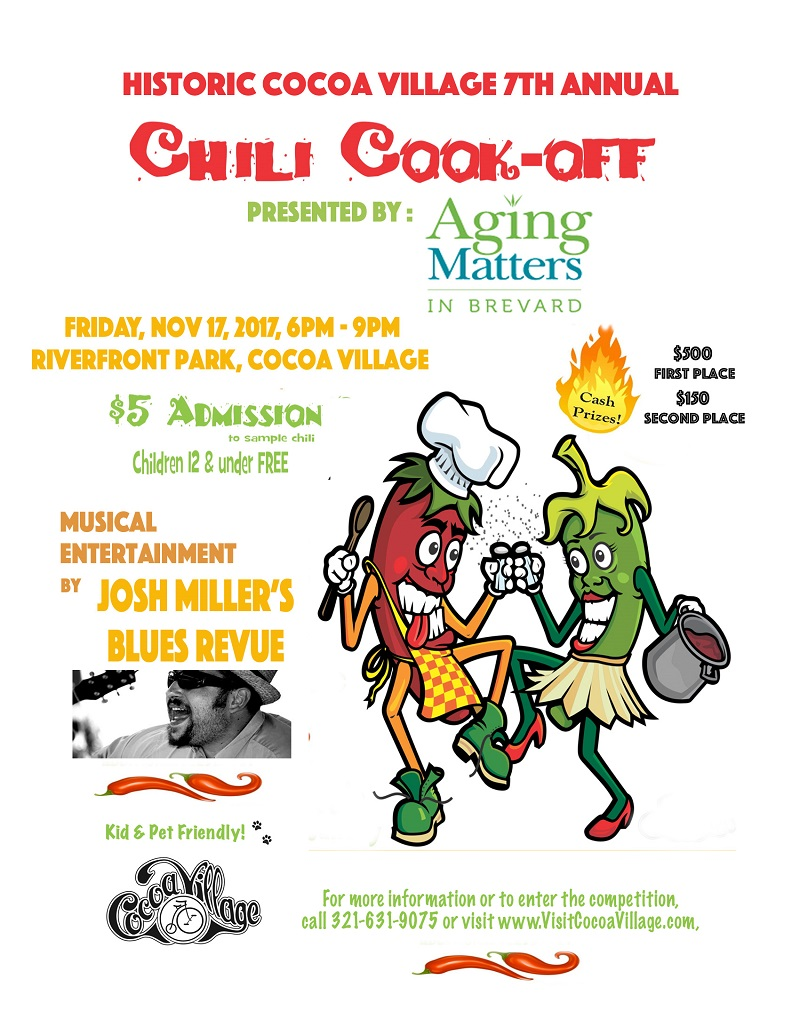 The Historic Cocoa Village 7th Annual Chili Cook-Off